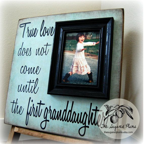 Mothers Day Gift Personalized Picture Frame True Love