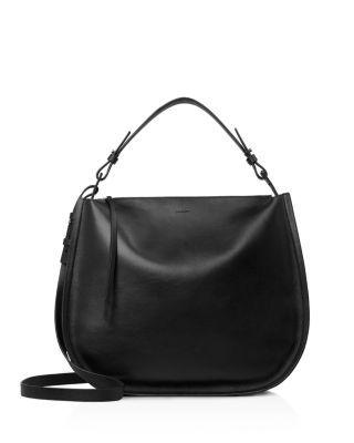 ALLSAINTS Kanda Hobo. #allsaints #bags #shoulder bags #hand bags #leather #hobo #