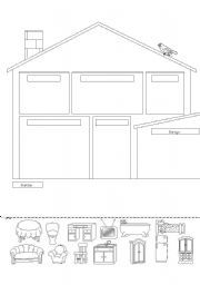 English teaching worksheets Crafts Family and Home Unit