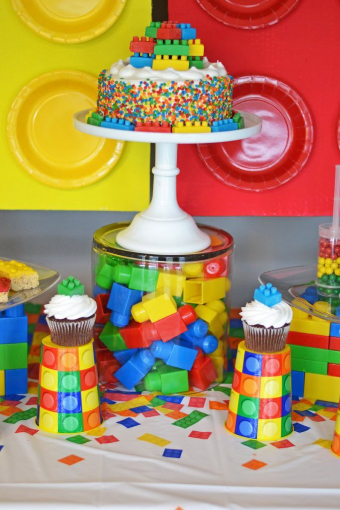 How To Make Lego Cake Stand