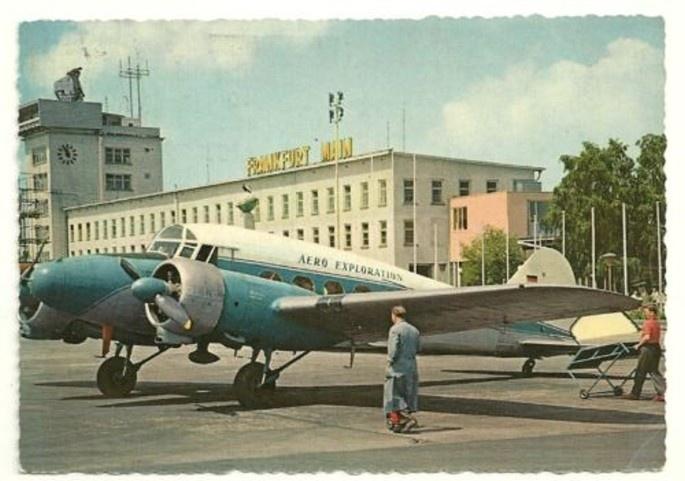 1950er - Flughafen - Airport