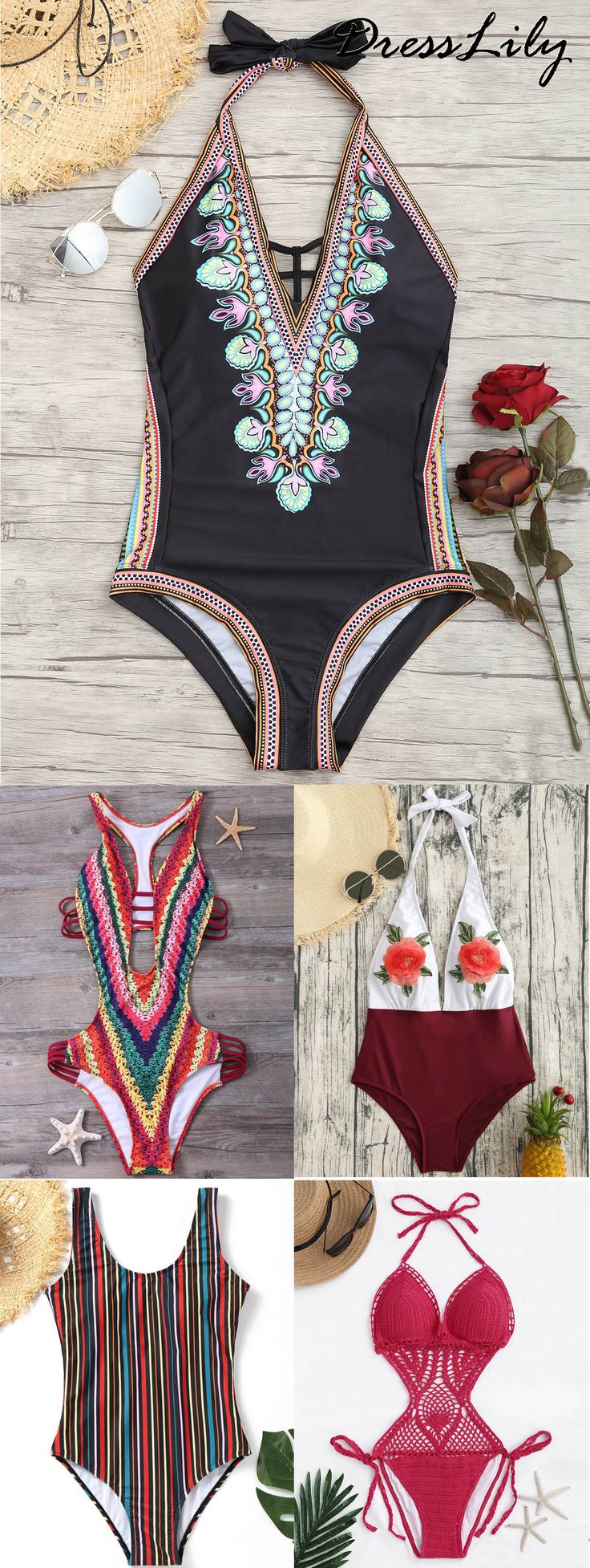 Buy the latest one piece swimsuit for women at cheapest price with high quality in dresslily.com | FREE SHIPMENT WORLDWIDE | dresslily,dresslily.com,dresslily swimsuit,dresslily swimwear,dresslily bathing suit, one piece, bikini,tankini, fakini,beach outfit, holiday style | #dresslily #swimsuit #onepiece #swimwear