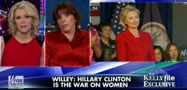 """EXCLUSIVE: Kathleen Willey: """"Hillary Clinton IS the 'War on Women'"""""""
