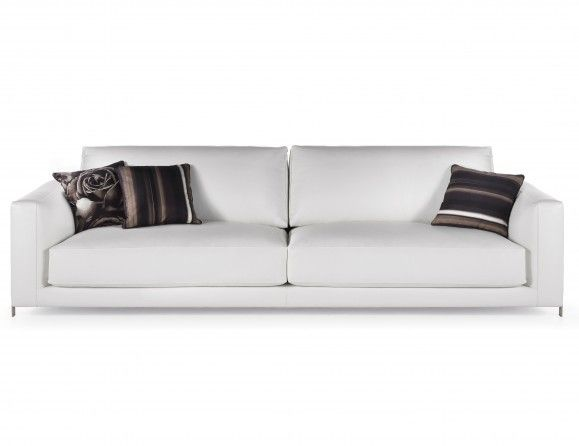 Manhattan Modern Italian Luxury Designer Sofa Shown In Leather. This Luxury  Modern Furniture Collection Features A Structure In Wood And Upholstered In  ...