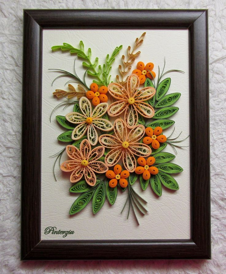 290 best Quilling Wall Hangings and Framed Pieces images on