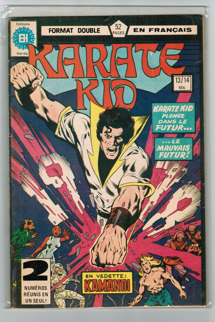 18 best Comic Covers (Karate Kid - Non English) images on Pinterest ...