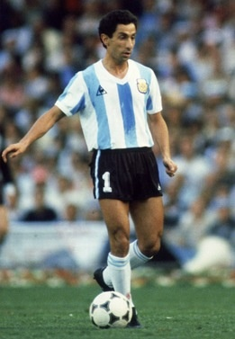 "Osvaldo ""Ossie"" Ardiles (Argentina, 1975–1982, 52 caps, 8 goals), international midfielder who won the 1978 FIFA World Cup as part of the Argentine national team. A competitive and skilled midfielder, Ardiles became a cult hero in England, along with Glenn Hoddle and compatriot Ricardo Villa, as a player for Tottenham Hotspur."