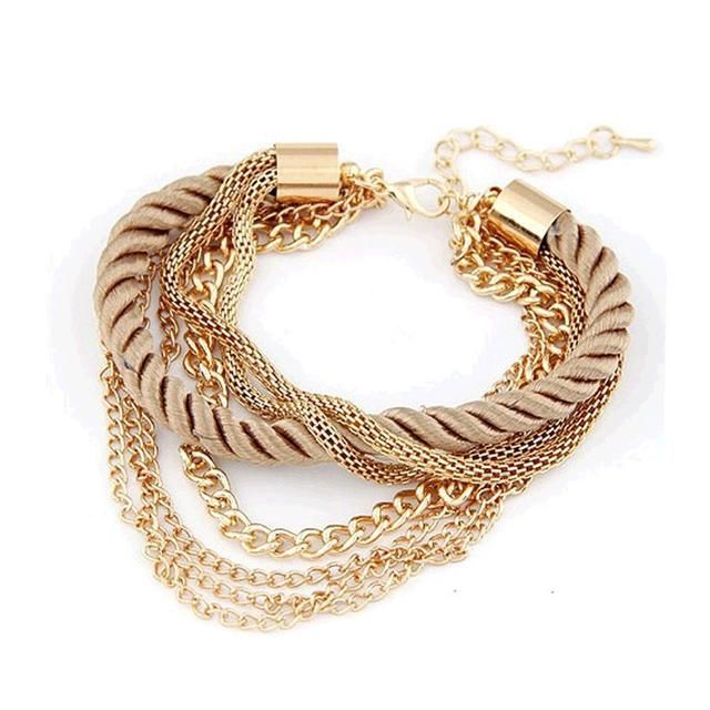 Looking for a gift? Start here 👉  Handmade Rope Chain  Bracelet  http://foxybeauty.co.za/products/handmade-rope-chain-bracelet?utm_campaign=crowdfire&utm_content=crowdfire&utm_medium=social&utm_source=pinterest #jewelry #bracelet #fun #fashion #jewlry #amazing #happy #diet #fashionista #fashionblogger #fashionaddict #fashionkids #fashionpost #fashionweek #fashionshow #fashionlover #fashiondesigner