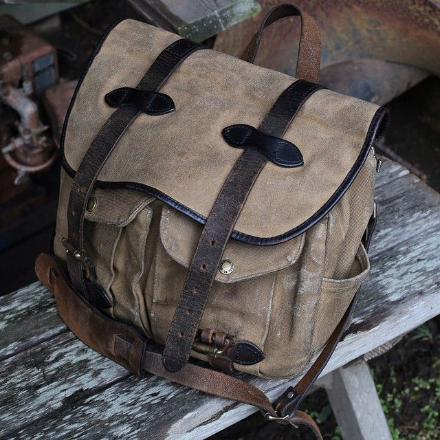 With details like USA-Made bridle leather, rugged fabrics and reinforcement on high-wear areas, our field bags are built to withstand the next twenty open seasons. Shop field-tested hunting & shooting bags like the by following the link in our profile or by visiting: http://fil.sn/Hunting
