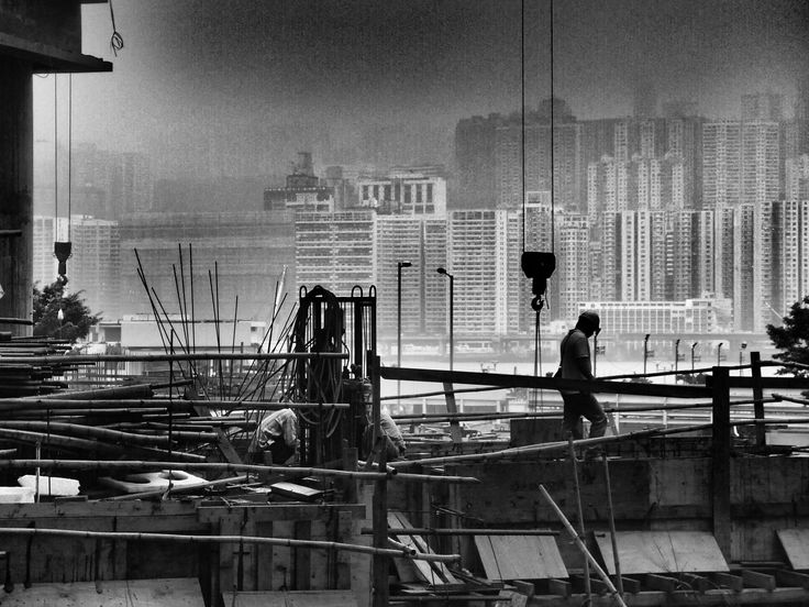 ...construction workers..建築工友... by c_chan on 500px