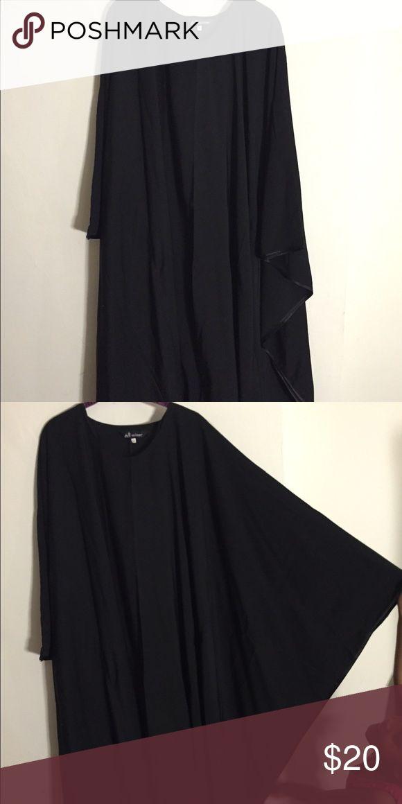 Black butterfly style abaya Floor length butterfly abaya. Loose sleeves. Minar Dresses