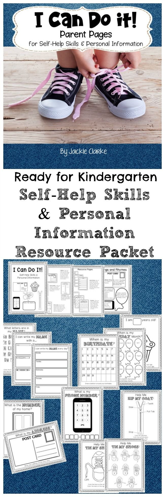 Looking for a way to support parents in helping their children learn important self help skills and personal information? Try this parent resource packet - great for orientation, open house, or conferences!