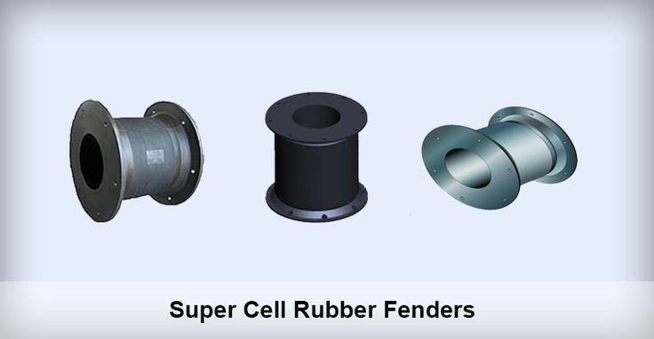 Supper Cell Rubber Fenders Supper cell rubber fender is also called drum type fender, as it can be compressed into a drum-shape.
