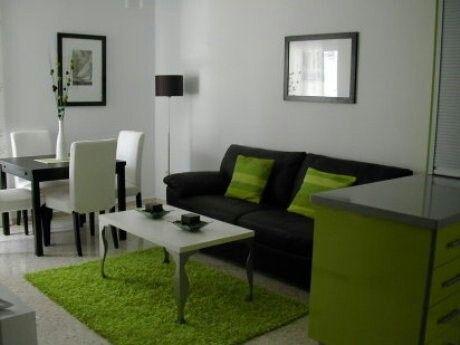 Deco minimalista para departamentos pequenos habitaci n for Salas espacios pequenos