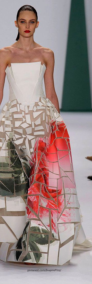 Carolina Herrera Spring 2015 Ready-to-Wear #futurefashion