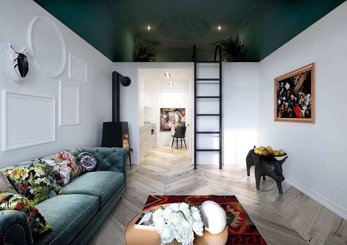 50 Small Studio Apartment Design Ideas (2019) U2013 Modern, Tiny U0026 Clever Home Design Ideas