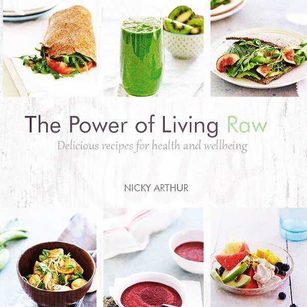 The Power of Living RAW. Super Foods for health and vitality. Gluten Free, Dairy Free, Vegetarian.  Get your copy at all leading book stores or visit   http://www.nickyarthur.com.au