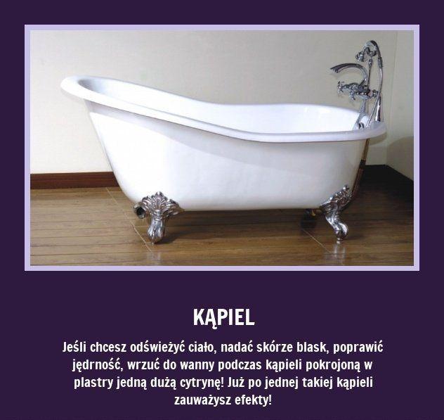 Aby poprawić jędrność skóry podczas kąpieli wrzuć do wody...