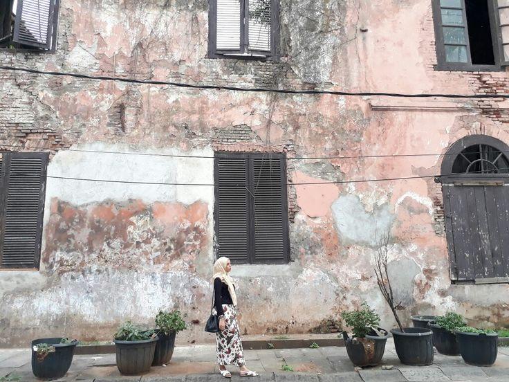 Batavia   #hijab #ootd #batik