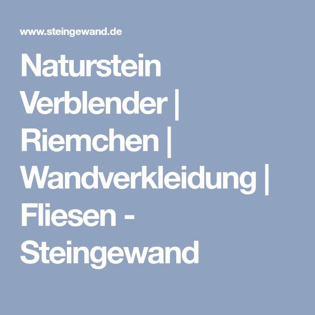Naturstein Verblender | Riemchen | Wandverkleidung | Fliesen - Steingewand