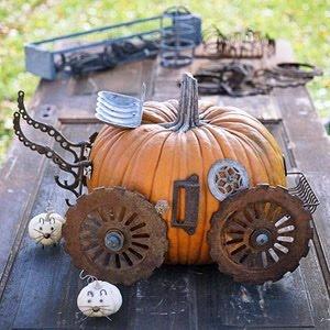 Steampunk Cinderella carriage