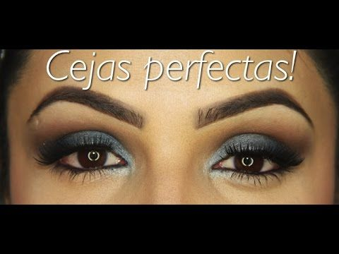 Cejas Perfectas......como arreglar las cejas - YouTube