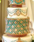 Custom luxury #wedding #cake from the talented confectioners at Bobette & Belle in Toronto, Canada. #weddingcake
