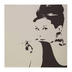 """PJÄTTERYD picture, Audrey Hepburn Width: 35 ½ """" Height: 35 ½ """" Width: 90 cm Height: 90 cm"""