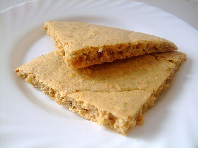 "Modemalist: Ovesný ""pita"" chléb"