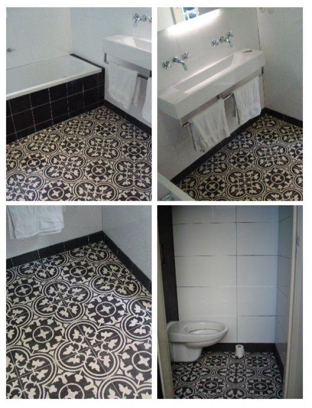17 beste afbeeldingen over badkamer op pinterest toiletten betonmuren en tegel - Badkamer tegelmat wit ...