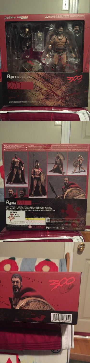Anime and Manga 158666: Figma Max Factory Action Figure Series 300 Leonidas -> BUY IT NOW ONLY: $60 on eBay!