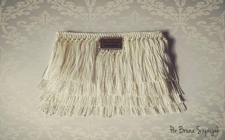Aprendiz de Crocheteiras: Faça Você: Carteira de Crochê com Franjas Encanto ...