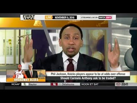 First Take - Knicks to Trade Carmelo Anthony?