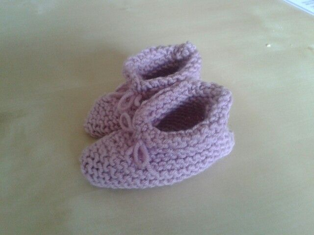 My first pair of booties
