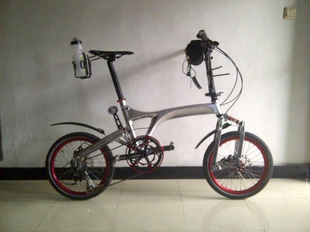 Birdy Disc Brake Silver Chrome Folding Bikes Pinterest