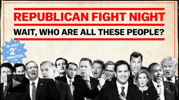 Oct 28 Republican debate 2015: start time, schedule, and what to expect