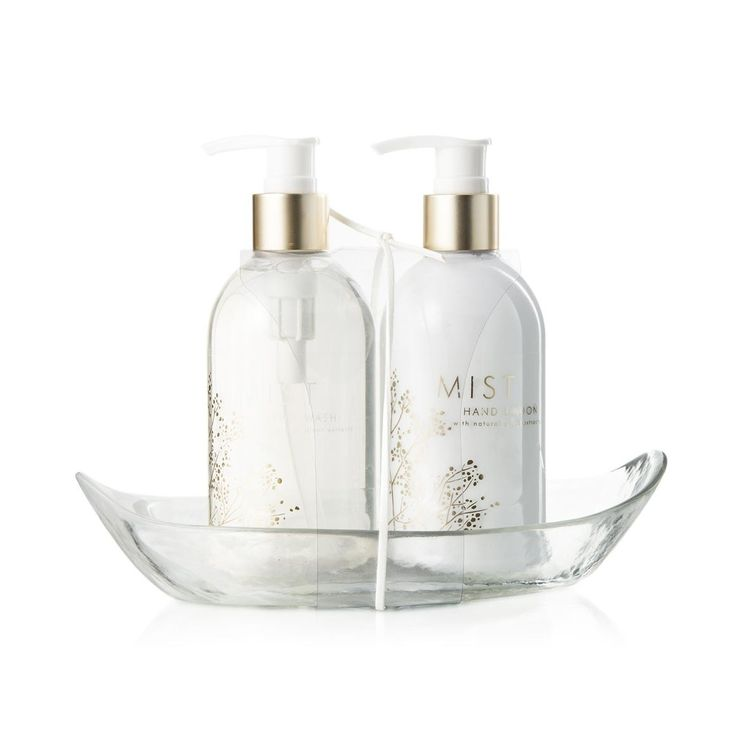 Mist Hand Wash Caddy Set. Always cleaning her hands, this would look great in her bathroom.