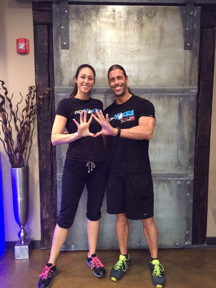 Come train with Christina Russell and Stevie Richards at the DDP YOGA Performance Center!!