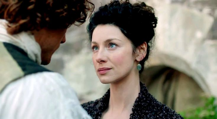 See Jamie (Sam Heughan) comfort Claire (Caitriona Balfe) in this deleted scene from Outlander season one — exclusive