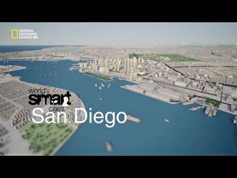 Conscious city planning  to address  climate change  and other mobile issues . National Geographic Channel's Worlds Smart Cities: San Diego - YouTube