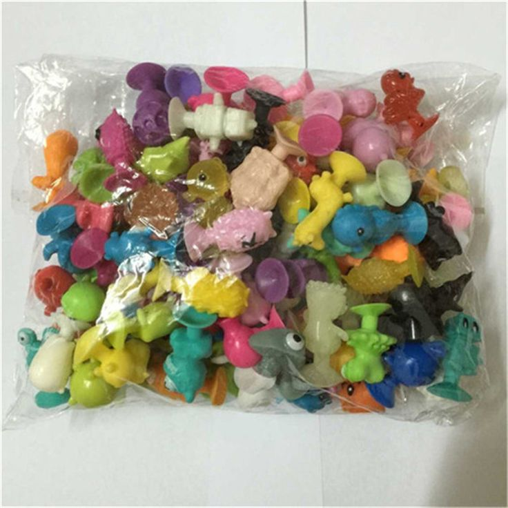 50PCS New Ickee Stikeez With Cupule children cartoon animal Action Toy Figures Sucker Toys soft Amusing Mini Kids Classic Toys
