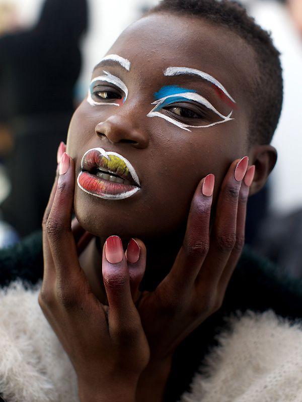 Nail Art von Vivienne Westwood