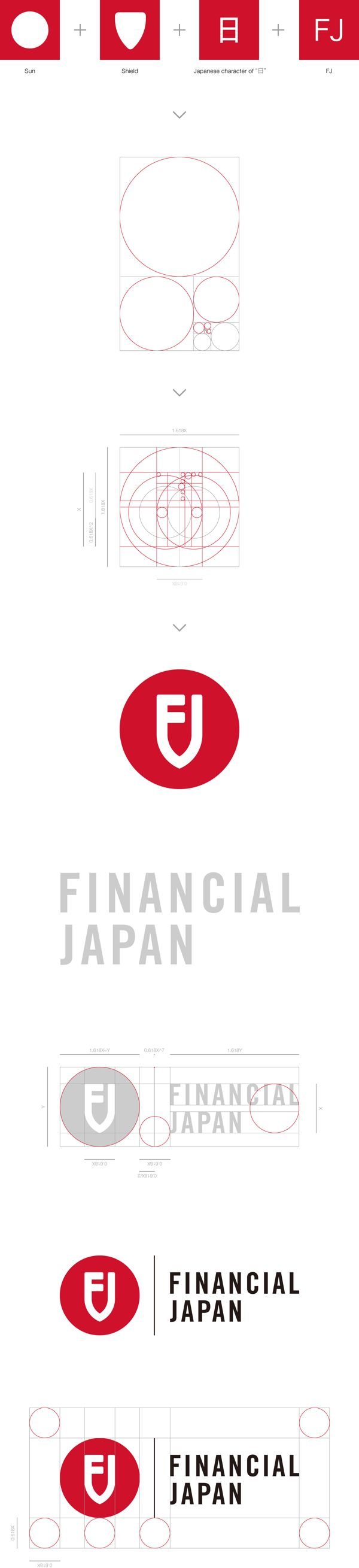 Financial Japan - Logo Redesign by hiromi maeo, via Behance