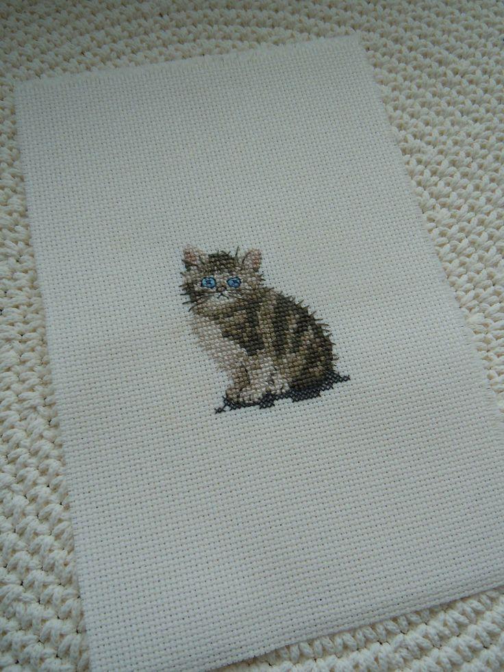 Tabby Kitten by Heritage Stitch Crafts