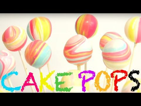 how to make MARBLE CAKE POPS! | Its A Piece Of Cake - YouTube