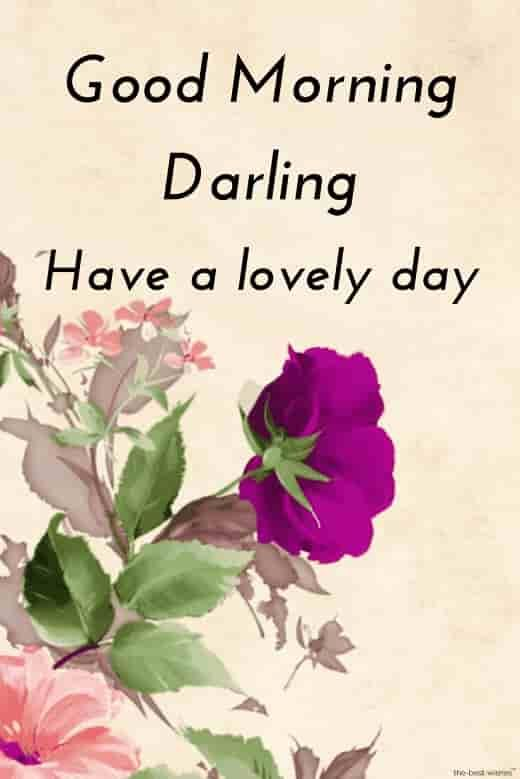 Good Morning Hd Image For Darling Morning Sweetheart Good