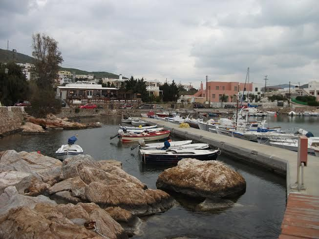 Small port at Foinikas