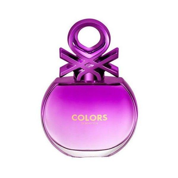 Colors Purple Benetton Perfume Feminino Eau de Toilette ($125) ❤ liked on Polyvore featuring beauty products, fragrance, eau de toilette fragrance, edt perfume, benetton, perfume fragrance and parfum fragrance