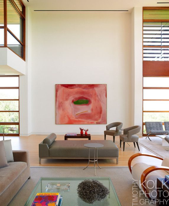 Living Room Of A Ft Worth Designed By Dallas Interior Design And Architecture Firm