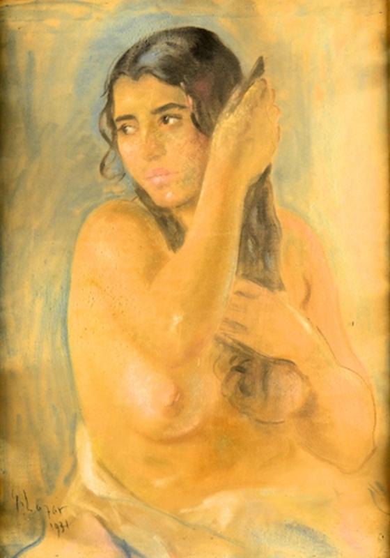 Ghelman Lazăr (1887-1976) – DUPĂ BAIE
